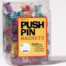 Jumbo pushpin magnets 72 for $21