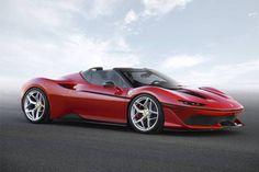 Nova Ferrari J50 terá apenas dez unidades produzidas