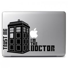 Trust me I am Doctor Who Decal Sticker for Apple Macbook Air & Pro 13  15  17  | eBay
