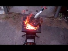 I Am Cooking A Nice Big Porterhouse Steak On My Deadwood Stove Tonight! ...