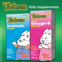 Treehouse Omega-3 Liquid provides parents with assurance that their growing children are getting enough of this important nutrient.