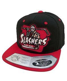 c7d67767fd2 FIRST JASON  SLASHERS  SNAPBACK HOCKEY CAP Hockey Hats