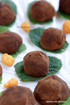 Apron and Sneakers - Cooking & Traveling in Italy: Rum & Raisin Truffles