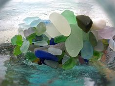 a piece of the ocean by almostsummersky, via Flickr