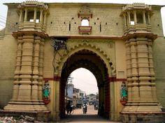 The Delhi Gate, Dhrangadhra, Gujarat, India