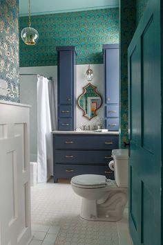 1930s Bathroom Design | 1930 S Bathroom Grey  Http://www.twopeasinabucket.com/mb.asp?cmd ... | Bathroom | Pinterest |  Grau Und Badezimmer