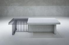 repurposed old furniture Bench Furniture, Metal Furniture, Home Decor Furniture, Kids Furniture, Furniture Design, Interior Architecture, Interior Design, Regal Design, Retail Store Design