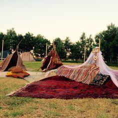 Festival Bruiloft. Wedding decoration.