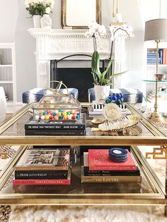 Sharing my three coffee table styling tips to help personalize it and take it to the next level by making it a converational piece. Cheap Living Room Furniture, Interior Design Blog, Interior Design Tips, Table Style, Diy And Home Improvement, Design Sponge, Coffee Table, Coffee Table Styling, Living Room Furniture