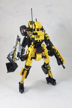 Backhoes mecha-3   by LEGO 7