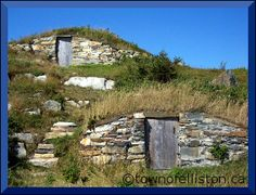 Root Cellars - Newfoundland....