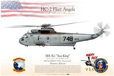 """UNITED STATES NAVY HELICOPTER COMBAT SUPPORT SQUADRON TWO (HC-2) """"Fleet Angels""""""""Desert Duck Airlines""""DETACHMENT TWO """"Desert Duck"""" Manama, Bahrain"""