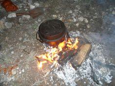 Camp cookin'
