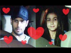 LOVEBIRDS Sidharth Malhotra & Alia Bhatt celebrates Valentine's Day 2017. Alia Bhatt, Interview, Photoshoot, Celebrities, Youtube, Celebs, Photo Shoot, Photography, Foreign Celebrities