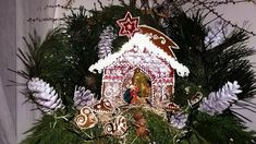 Jana Melas Pullmannová: Betlehem z medovníka Gingerbread, Christmas Ornaments, Holiday Decor, Home Decor, Xmas Ornaments, Homemade Home Decor, Christmas Jewelry, Christmas Baubles, Decoration Home