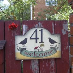House Numbers, French Decor, Decoupage, Clock, Ceramics, Wood, Garden, Home Decor, Country Decor