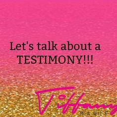 What's your testimony? Tiffany, Inspiration, Biblical Inspiration, Motivation