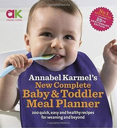 Booktopia has New Complete Baby and Toddler Meal Planner, 200 Quick, Easy and Healthy Recipes for Your Baby by Annabel Karmel. Buy a discounted Hardcover of New Complete Baby and Toddler Meal Planner online from Australia's leading online bookstore. Pureed Food Recipes, Baby Food Recipes, Healthy Recipes, Drink Recipes, Delicious Recipes, Fruit Puree, Strawberry Puree, It Pdf, Fast Recipes