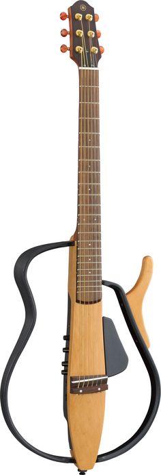 Yamaha SLG110S silent guitar.