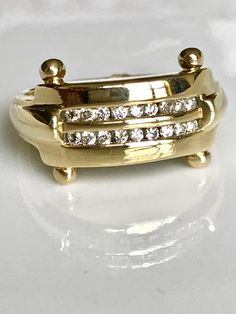 Men's Vintage Diamond Ring14k Men's Vintage RingSize