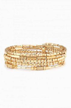 New wrap bracelet by Stella & Dot. Love the effortless layered look shop: at www.stelladot.com/misstanyajean