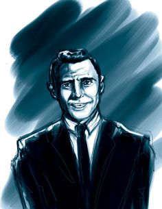 Second Rod Serling sketch. A bit younger, from Twilight Zone.