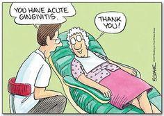 Acute #Gingivitis #dentalhumor #dentist
