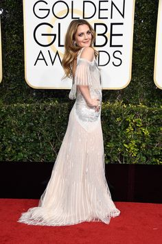 Monique  Lhullier The Dresses at the Golden Globes Fulfilled All of Your Expectations