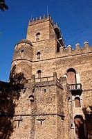 YB3-1906143 Fasilidas s Castle Fasil Ghebbi Royal Enclosure Gondar Ethiopia