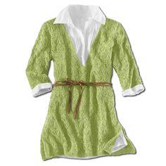 Modell 412/3, Damenpullover, leicht ausgestellt mit seitlichen Schlitzen aus Contrato von Junghans-Wolle « Große Größen « Strickmodelle Junghans-Wolle « Stricken & Häkeln im Junghans-Wolle Creativ-Shop kaufen