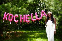 Coachella themed party