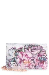 8ae200c87 Ted Baker London Illuminated Bloom Grosgrain Clutch available at  Nordstrom Ted  Baker Fashion