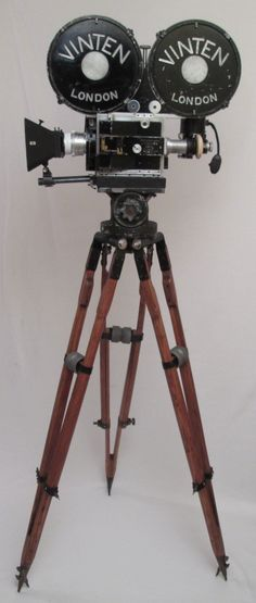 1930's Vinten 35mm Motion Picture Film Camera