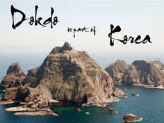 Dokdo, an island of South Korea