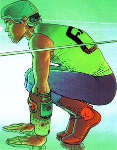 Moebius Giraud | Artbook | Surreal comic artist | French illustrator #Surrealismo #Design #Creative @deFharo