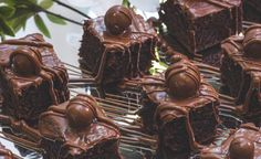 Malted Brownies recipe
