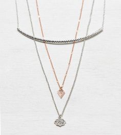 AEO Tiered Curve Necklace