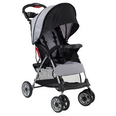 This all terrain stroller is great for jogging on any type of road. It features an umbrella fro inclement weather as well as all-terrain wheels.