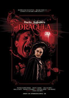 "MP211. ""Dracula 3D"" Movie Poster by Silver Ferox Design (Dario Argento 2012) / #Movieposter"