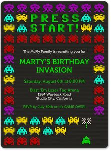 Digital kids birthday #invitations from Evite Postmark - www.postmark.com/kids-birthday-party-invitations