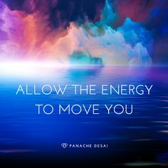 When you change your energy, you change your life. You hold the key.