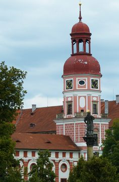 Roudnice castle (North Bohemia), Czechia
