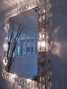Illuminated Mirrors, Wall Mirrors, Vintage Walls, Chandelier, Ceiling Lights, Glass, Decor, Frogs, Candelabra