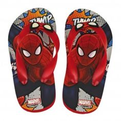 Chanclas Spiderman Comic