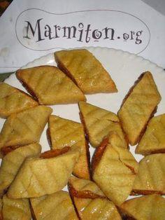 Makrouts d'Eugénie à la pâte d'abricots (3ème rencontre Marmiton) - Recette de cuisine Marmiton : une recette