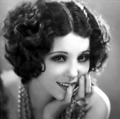 Image result for curly flapper bob