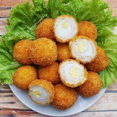Resep olahan telur sederhana Instagram Egg Recipes, Asian Recipes, Dessert Recipes, Cooking Recipes, Ethnic Recipes, Recipies, Asian Foods, Desserts, Easy Sauce Recipe