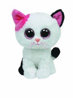 Ty Beanie Boos Muffin Cat Plush, Medium TY Beanie Boos http://www.amazon.com/dp/B00AZLIJ7A/ref=cm_sw_r_pi_dp_bxlJtb0YM29MG0WW