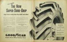 Goodyear Super Sure Grip tractor tires