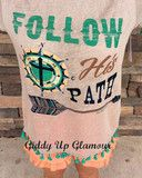 Follow His Path Short Sleeve Top with Tassel Trim | $29.95 | www.gugonline.com Giddy Up Glamour, Pretty Girl Swag, Virtual Closet, Country Girls, New Product, Trendy Outfits, Bliss, Gypsy, Tassels